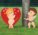 Cupid Strikes Woodcraft Pattern