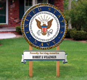 Navy Yard Sign Woodcrafting Pattern