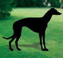 Greyhound Shadow Woodcrafting Pattern