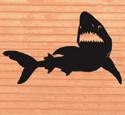Shark Shadow Woodcrafting Pattern