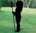 Standing Chief Shadow Woodcraft Pattern