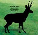 Pronghorn Antelope Shadow Wood Pattern