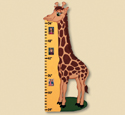 Giraffe Growth Chart Woodcrafting Plan