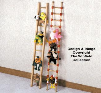 Bean Bag Animal Ladders Woodcraft Pattern