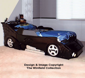 Child Toy Amp Game Plans Bat Car Bed Woodworking Project Plan