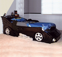 Bat Car Bed Woodworking Project Plan