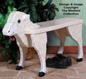 Sheep Bench Woodcrafting Pattern