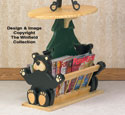 Black Bear Magazine Table Woodworking Plan