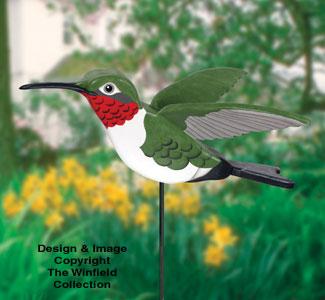 3D Giant Hummingbird Wood Project Plan