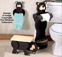 Black Bear Bath Buddies Woodcraft Pattern