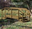Landscape Timber Bridge Woodworking Plan