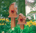 Luv Shack Birdhouses Wood Pattern