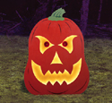 Giant Glowing Jack-O Wood Project Plan
