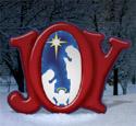 Glowing Joy Nativity Woodcraft Pattern