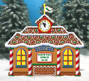 Gingerbread Train Station Woodcrafting Pattern