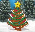 Gingerbread Christmas Tree Woodcraft Pattern