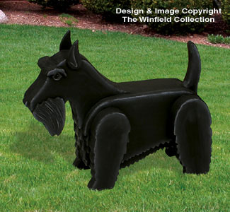3D Life-Size Scottish Terrier Woodcraft Pattern