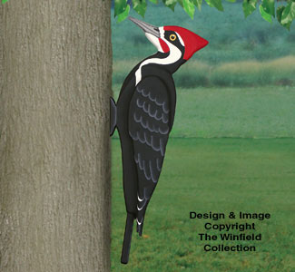 All Bird Project Plans Amp Patterns 3d Giant Pileated