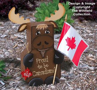 Canadian Moose Patio Paver Pal Pattern