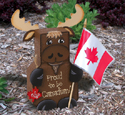 Canadian Moose Patio Paver Pal Pattern