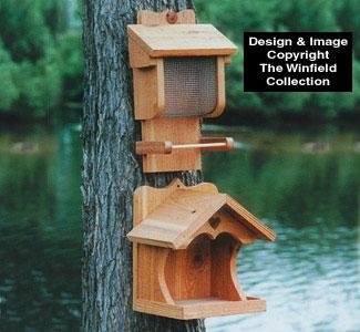 Suet & Seed Feeders Woodcraft Plan