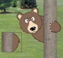 Peeking Bear Woodcraft Project Pattern