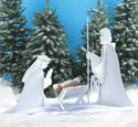 Blessed Nativity Woodcraft Pattern