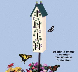 Butterfly House Woodcraft Pattern