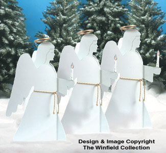 Nativities Amp Angels Candlelight Angels Woodcraft Pattern
