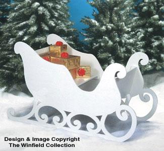 Santa Amp Elves Santa S Sleigh Woodworking Plan