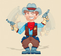 Motion Cowboy Pattern