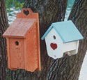 Heart Birdhouses Wood Plan