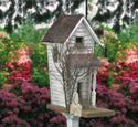 Old Country Birdhouse Wood Plan