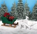 Landscape Timber Sleigh & Reindeer Plan Set