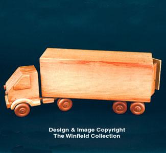 Semi & Trailer Wood Project Plan