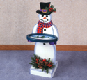 Snowman Tray Table Woodcraft Pattern