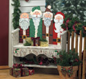 Santa Bench Woodcraft Pattern