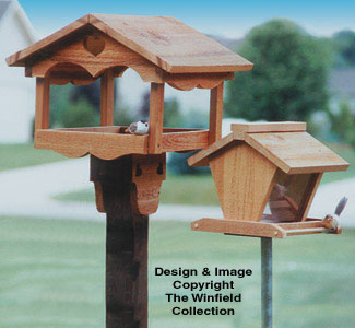 Bird Feeder Woodworking Plans Bird Feeders Wood Patterns