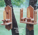 Squirrel Feeders Wood Patterns