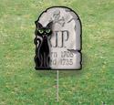 Halloween Yard Art - Gravestone