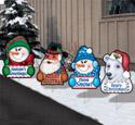 Christmas Cheer-Yard Art Set #5