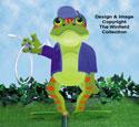 Frog Lawn Sprayer Wood Plan