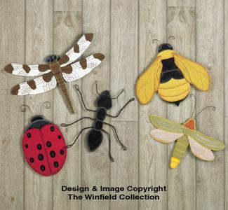 Giant Yard Bugs Woodcraft Pattern