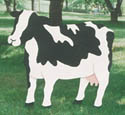 Yard Cow Pattern - Standing