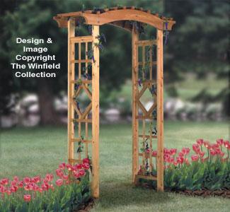 Garden Arbor Wood Project Plan