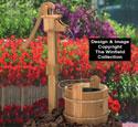 Old Pump & Washtub Wood Plan