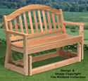 Loveseat Glider Wood Project Plan