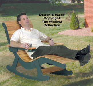 outdoor furniture plans chaise lounge rocker wood plans