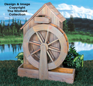 Structure Woodworking Plans Old Grain Mill Wood Project Plans