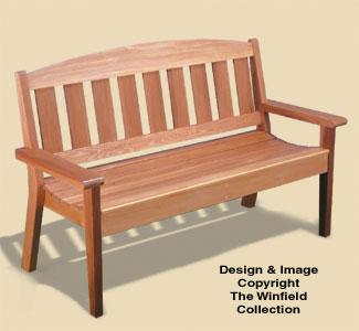 Outdoor Furniture Plans Garden Bench Woodworking Plans